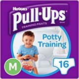 Huggies Pull Ups Day Time Potty Size Medium Training Pants Boys, 10 to 18 kg