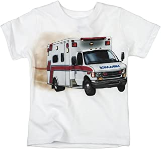 product image for Shirts That Go Little Boys' Ambulance T-Shirt