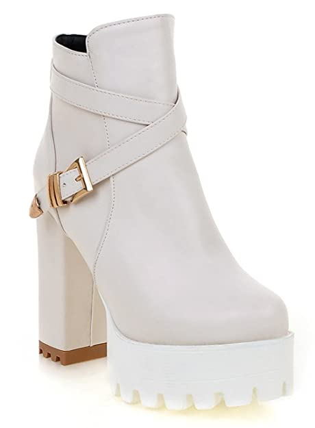 Complementos Zapatos Y Ye es Mujer Amazon Clásicas Botas W6nqzH