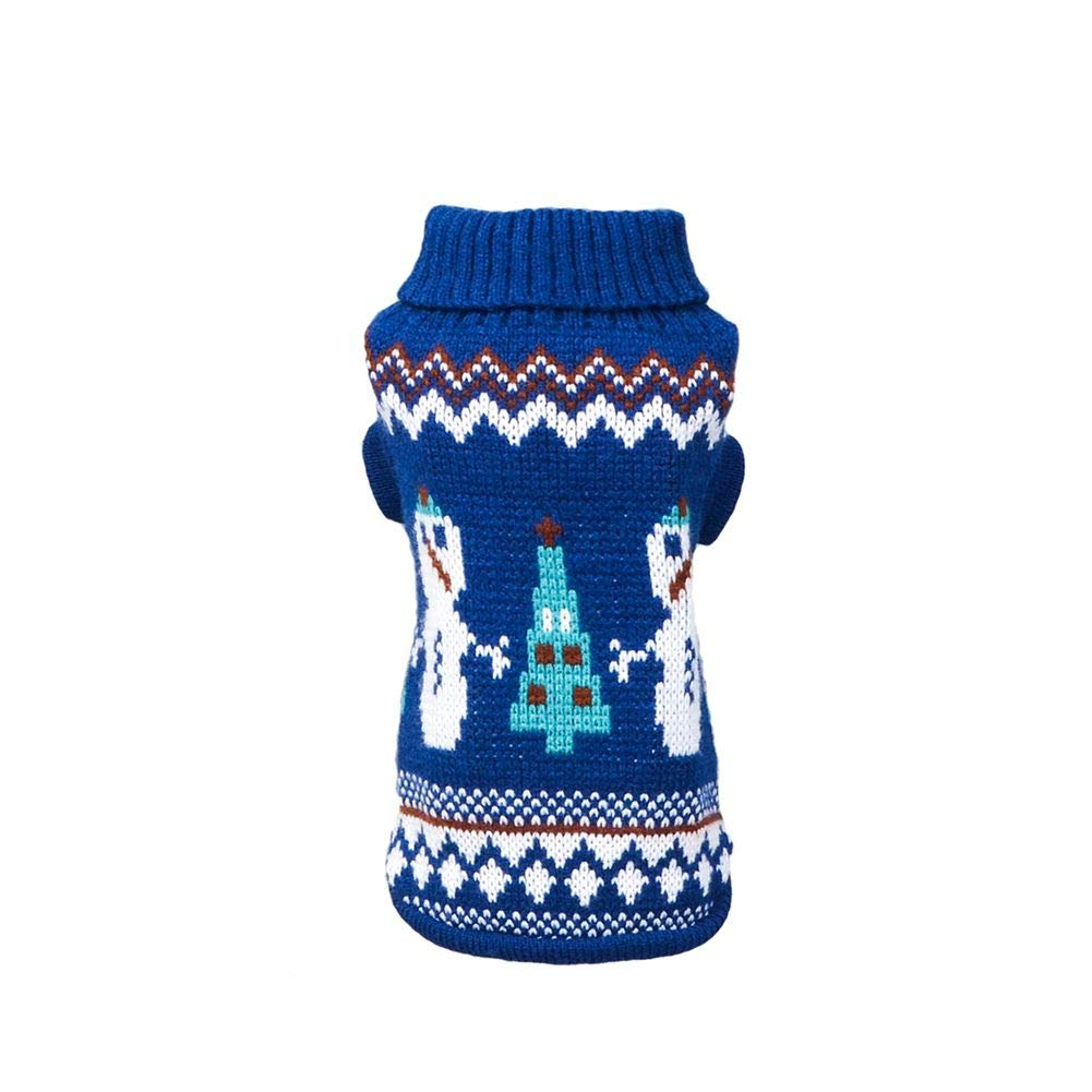 Handfly suéter del Perro de Navidad Mascota suéter Perro Abrigo de ...