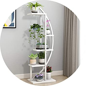 Home Flw Eisen Mehrschicht Pflanzenständer Regal Garten Künstliche
