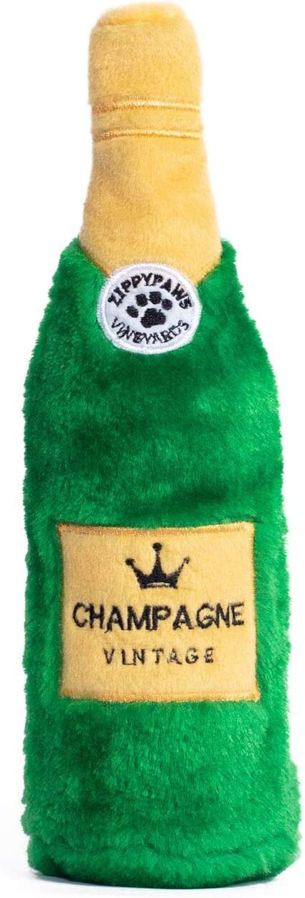 ZippyPaws - Happy Hour Crusherz Drink Themed Crunchy Water Bottle Dog Toy
