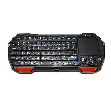 MLL Mini Teclado inalámbrico Bluetooth Ratón Volando Ardilla Juego Tableta Android win7 Retroiluminación Teclado Mini,