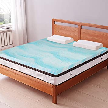 Amazon Com Mattress Topper King Memory Foam Mattress Topper For