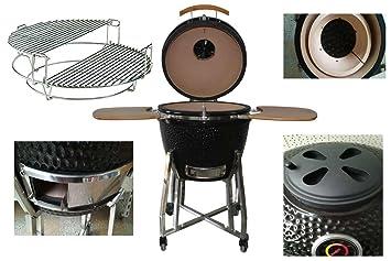 Outdoor Küche Kamado Joe : Keramikgrill kamadogrill kamado bbq 55 cm Ø de luxe schwarz 21 8
