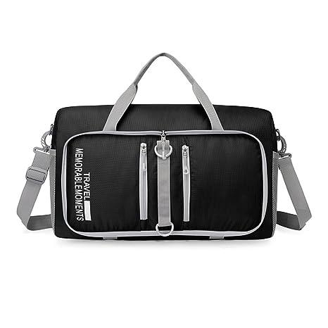 a910453d4 KEISHJD 682 25L Large Capacity Foldable Bag Traveling Luggage Pack black
