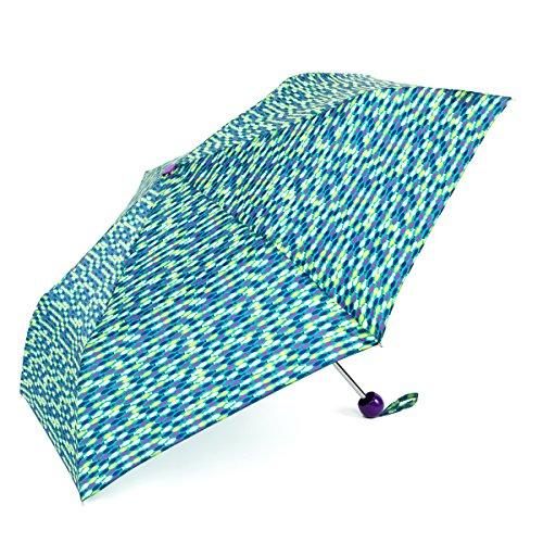 shedrain-rainessentials-super-mini-manual-print-folding-umbrella-swim-fish-pattern