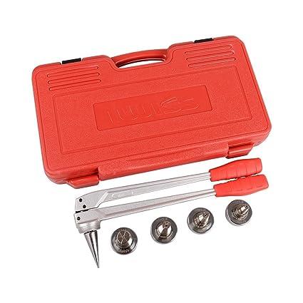 Iwiss Tubo de PEX de expansión Manual herramienta Kits con 16 mm, 20 mm,