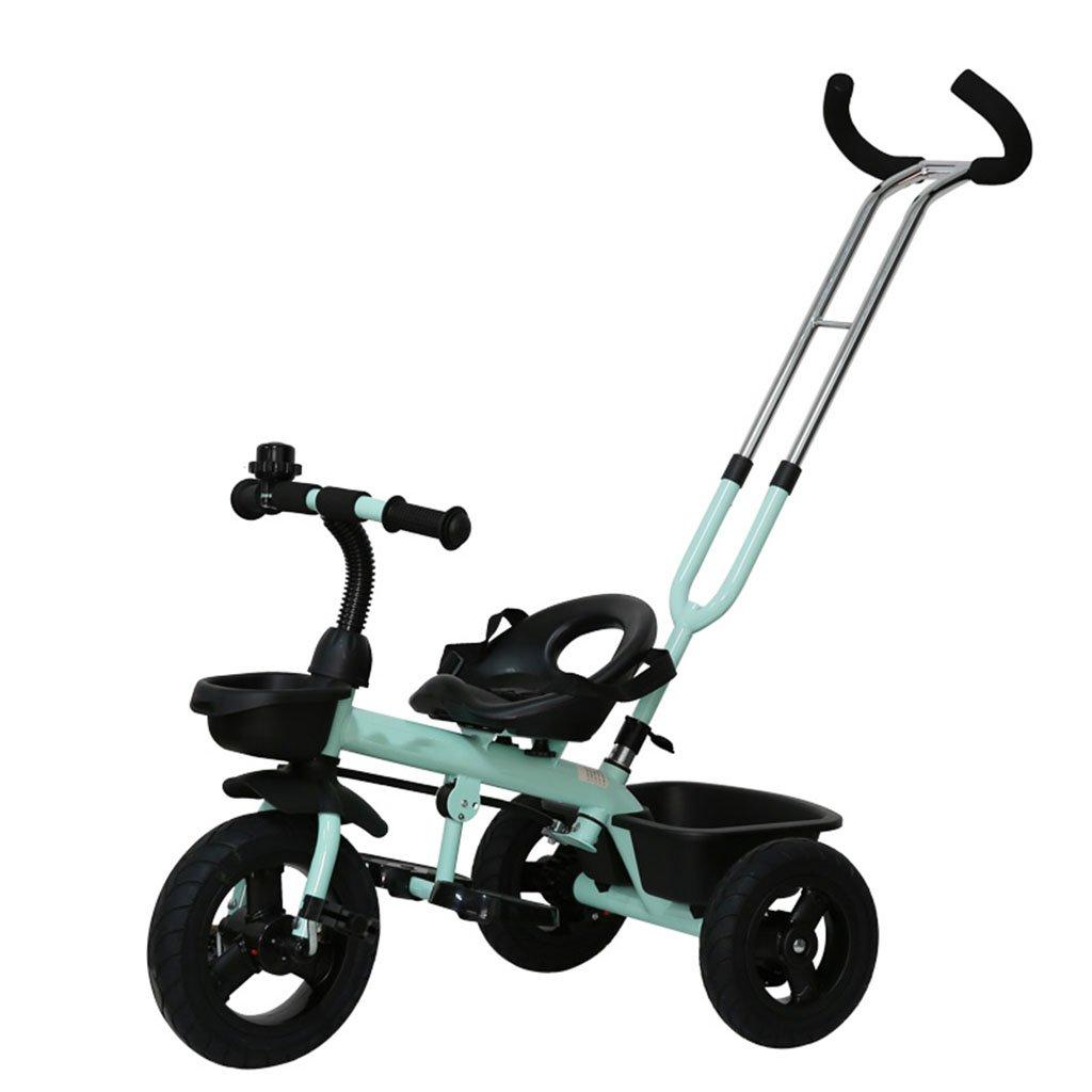 CGN子供用自転車、赤ちゃんの赤ちゃんのキャリバー三輪車の子供の自転車の自転車 soft B07CMV4T51 青 青