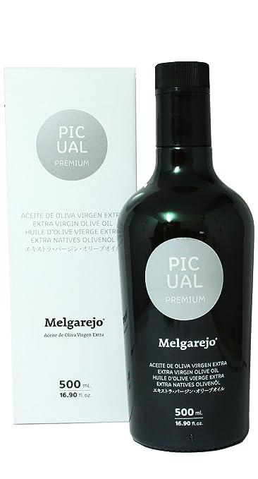 Melgarejo Picual Premium - Award Winning Cold Pressed EVOO Extra Virgin  Olive Oil 6b0af25c9e7f