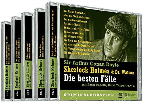 Sherlock Holmes & Dr. Watson. Die besten Fälle. 5 CDs. 8 Kriminalhörspiele