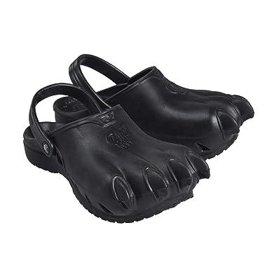 74330297593f Clawz Shoes Unisex Classic Black Rubber Clawz Clogs M4 W6 US