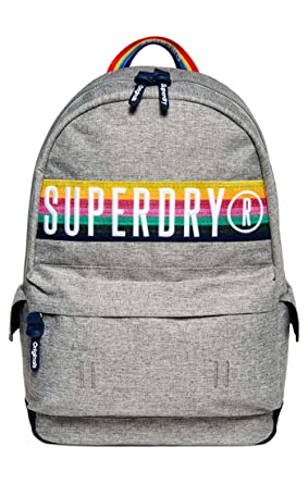 new concept 1f7d5 331ca Superdry Rucksack RETRO BAND MONTANA Light Grey Marl: Amazon ...
