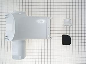 WR49X10091 GE Refrigerator Refrigerator Damper Assembly