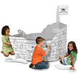 My Very Own House Coloring Playhouse, Pirate Ship