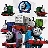 Thomas & Friends Wall Stickers With Decor Decal Art Removable Vinyl Home Art Decor For Kids Nursery Bedroom 45x60CM
