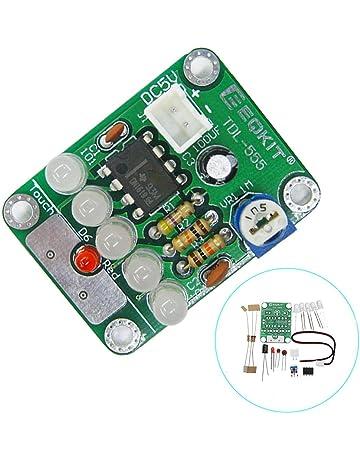 Anddod 3pcs DIY DC 5V TDL-555 Touch Delay LED Light Kit Insulation Materials &