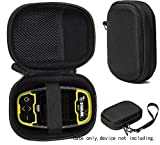Protective Case for Golf GPS by CaseSack Compatible with Izzo Swami 4000+ Golf GPS, and Swami 4000, Swami 5000 Golf GPS Rangefinder; Garmin Approach G30, G6, G7 (Black)