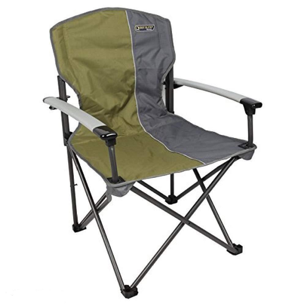 Quest Stühle Serie. Deluxe, Grün, Camping, Caravaning, Festival, Stühle. Set von Zwei