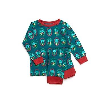 c08c6f4838 Baby Schlafanzug grün Gr.86/92 Bio Little Green Radicals: Amazon.de ...