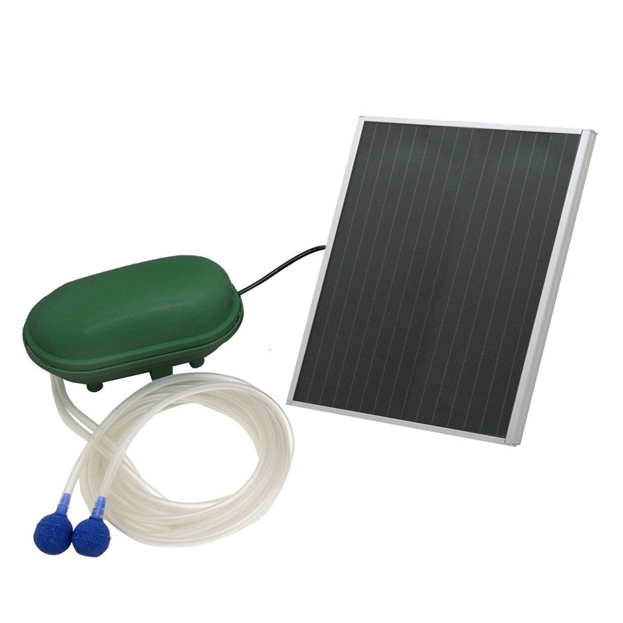 Sunnydaze Solar Oxygenator Air Pump