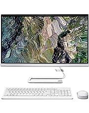 LENOVO Ideacentre AIO 3, CPU AMD 4th GEN. 2 Core a 2,7 GHz, 23,8 inch monitor FHD 1920 x 1080 pixels, DDR4 8 GB, SSD 256 GB nvme, Webcam, Wi-Fi, BT, Win 10, A/V, Gar. Italië (R). Yzen 3, Silver White)