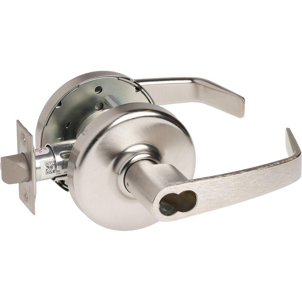2-3//8 Backset Steel//Zinc//Brass Satin Chrome Non Handed 626 Corbin Russwin CL3557-NZD-626-CL6-B238 Grade 1 Storeroom