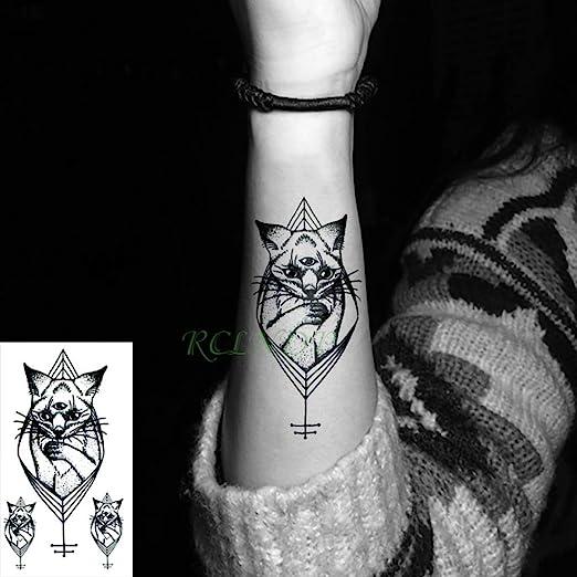 5Pcs-Tatuaje Impermeable Pegatina Trenza Halloween Tatuaje Brazo ...
