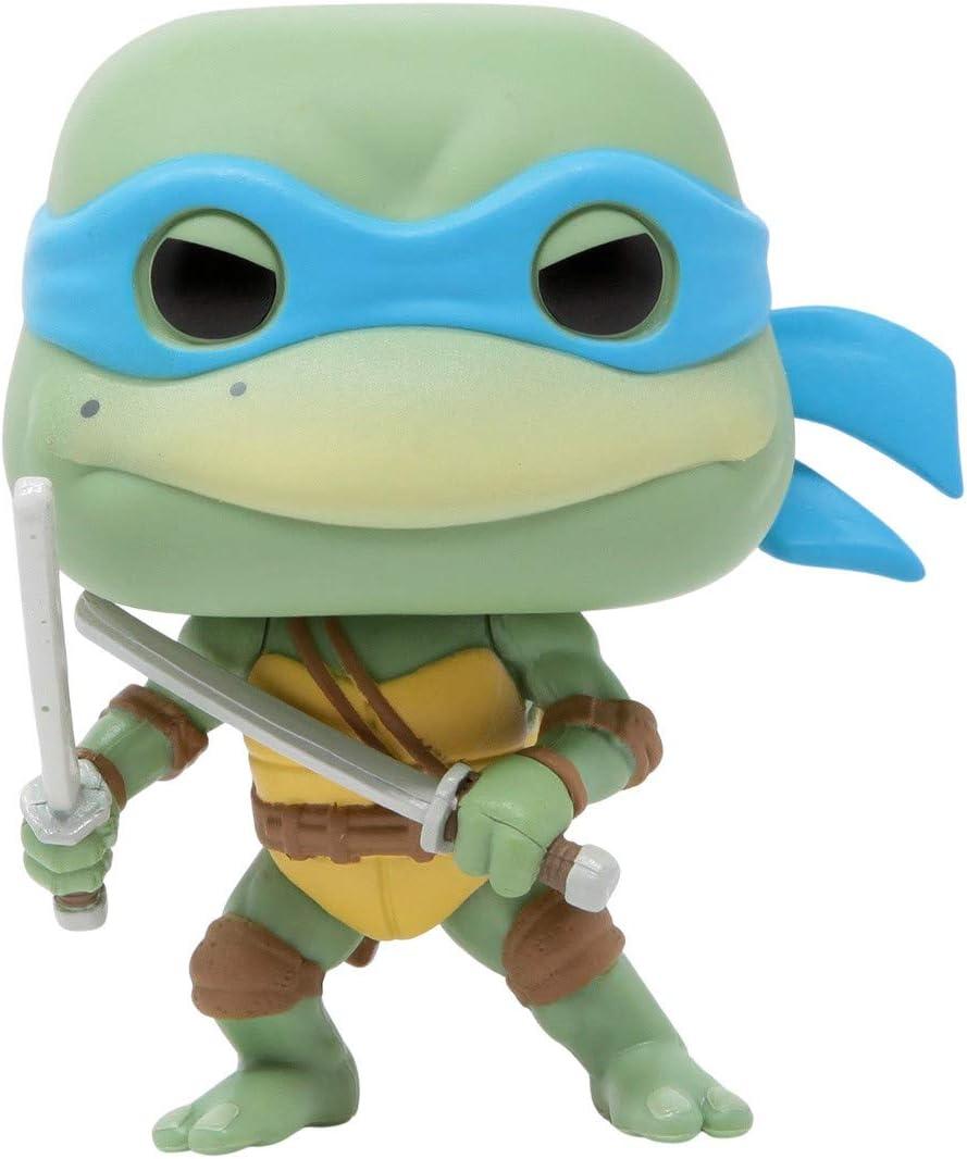 Funko Pop Bundled with Pop Box Protector Case Leonardo Vinyl Figure Retro Toys: Teenage Mutant Ninja Turtles