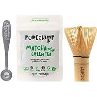 Kit Básico Matcha y Batidor/Set de Té PureChimp