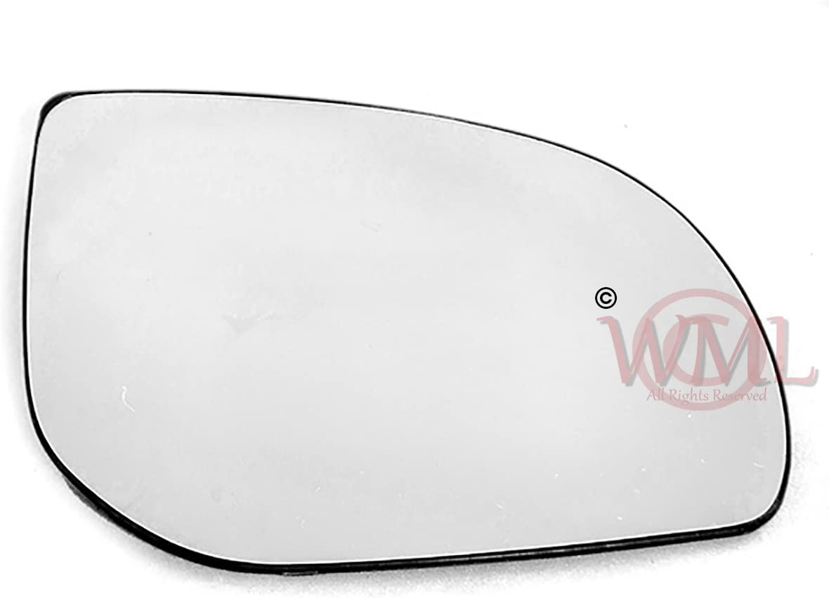 Door//Wing Mirror Glass With Base Plate