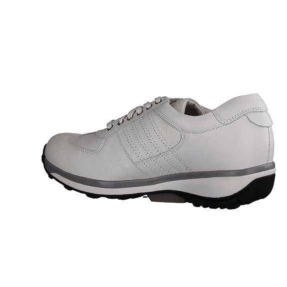 XSENSIBLE England 300013103- Bequemschuhe/Lose Einlage Damenschuhe Bequeme Schnürschuhe, Weiß, stretchleder