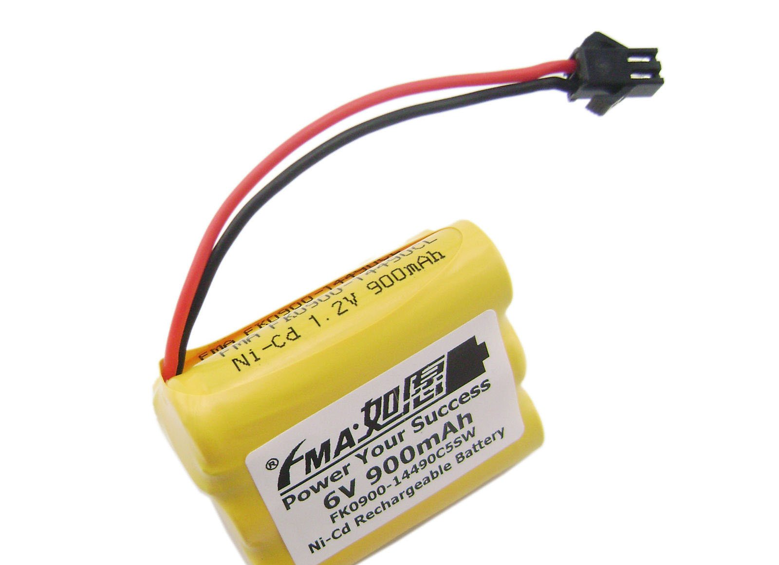 Aa 6V 900Mah Battery for 80 Led Solar Bulbs Light Power Toy W/Sm2P 5Sw