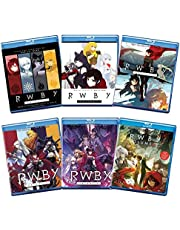 RWBY: The Complete 6-Volume Blu-ray Collection - Volume 1 / Volume 2 / Volume 3 / Volume 4 / Volume 5 / Volume 6