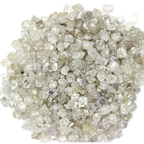 5.00 Ct Natural Rough Loose diamond Silver Color Diamonds Lot