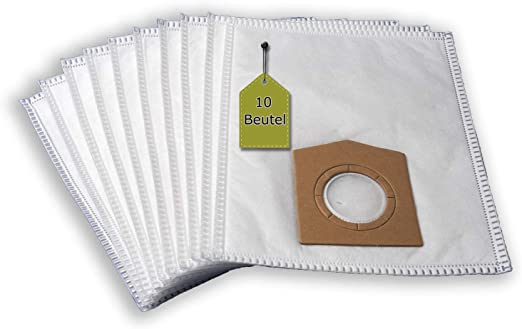 10 bolsas para aspiradora Dirt Devil M 550 Z – Funda Zip, 4 capas eVendix Bolsa de microfibras® 10 bolsas de basura: Amazon.es: Hogar