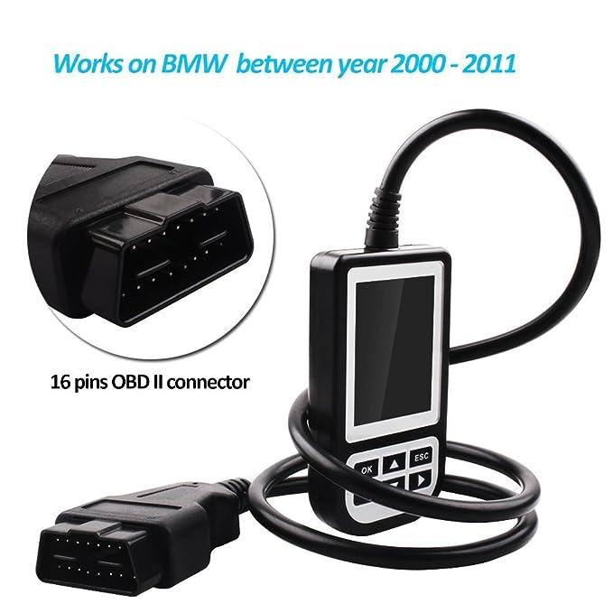 Creator C110 V4.4 Auto OBDII Fault Code Reader BMW/MINI Diagnostic Scan Tool by Creator: Amazon.es: Coche y moto
