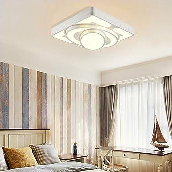 Deckenlampe LED Deckenleuchte 48W Wohnzimmer Lampe Modern ...