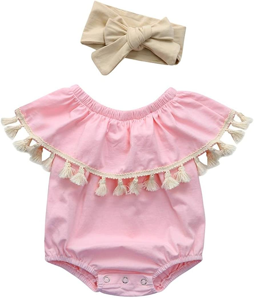 Memela Baby Girls Clothes,2 Pieces Layette Elk Tops Shorts Set 0-4 Years Spring//Summer
