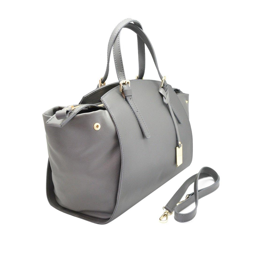 3d4eef93aab DALILA Italian Handbag smooth and soft leatheradjustable shoulder strap shoulder  purse Made in Italy  Handbags  Amazon.com