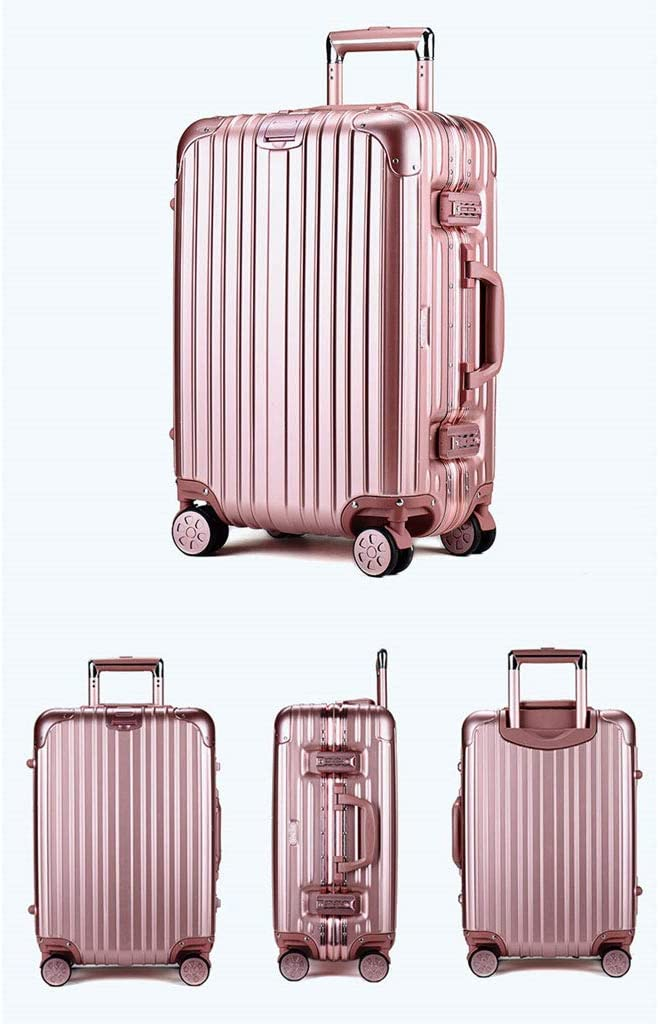 Mesurn Business Travel Trolley Case 360/° Smooth Rotating Universal Wheel Scratch-Resistant Case Luggage Three-Digit Combination Lock