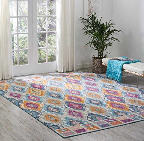 Nourison Passion Colorful Bohemian Multicolor Area Rug, 8' x  10'