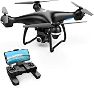 Holy Stone GPS FPV RC Drone HS100 with 2K HD Camera Live Video and GPS Return Home Quadcopter with Adjustable Wide-Angle WiF