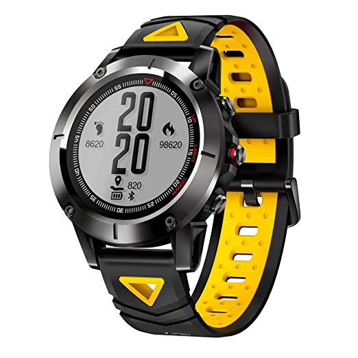 Ganeep GPS Sport Smart Watch Professional IP68 A prueba de agua Bluetooth Recordatorio de llamadas Reloj