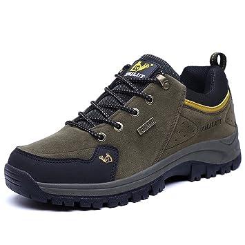 Beauqueen 2017 Herbst Winter Sport Outdoor Wanderschuhe Turnschuhe Paare Schuhe Wildleder Rutschfeste Dämpfung Schuhe 39-44 (Color : Orange, Größe : 43)
