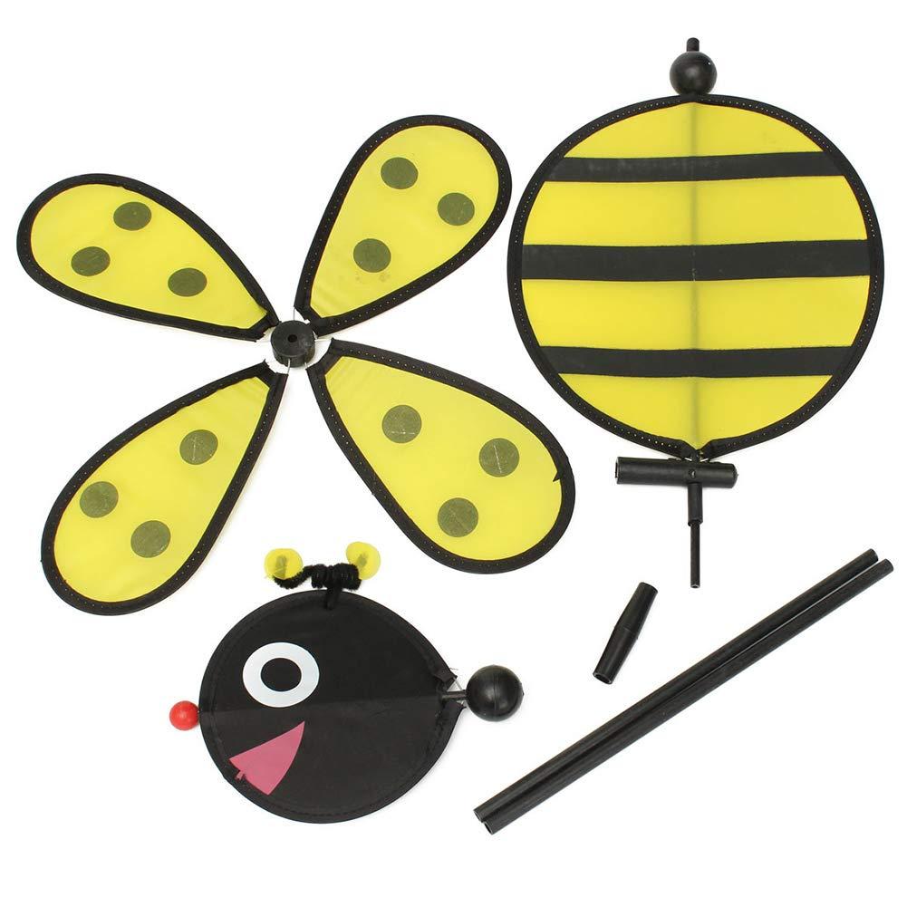 il giardino Keshida Girandola a vento a forma di ape e coccinella decorazione per la casa il cortile