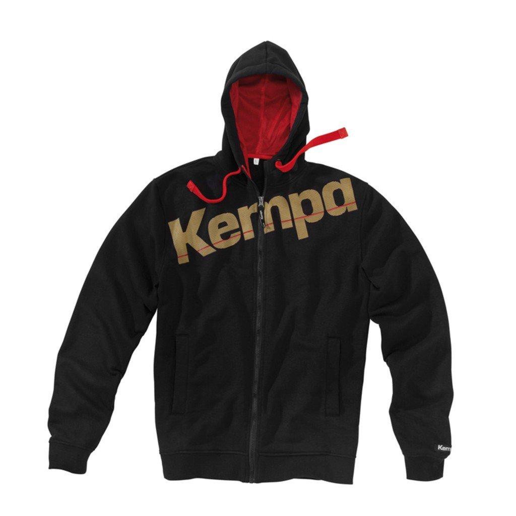 Kempa Kapuzenjacke Core DHB Schwarz 2002155011630
