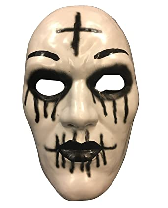 The Purge Cross Mask From Purge Anarchy 2 Halloween Movie - Hard Plastic -