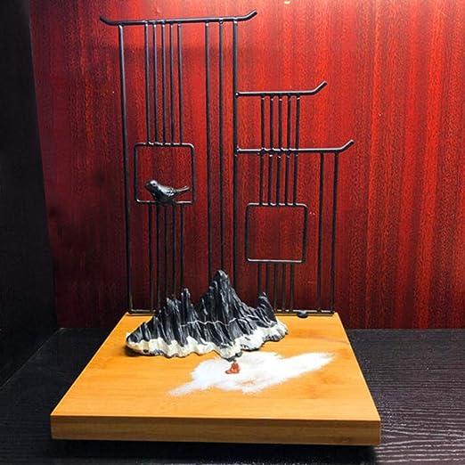 shixiaodan Jardin Zen Ornamento Estilo Chino Seco Montaña Arena ...