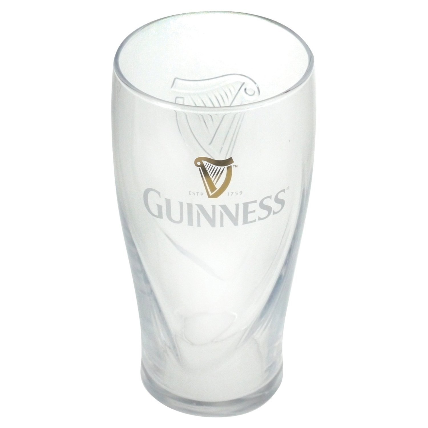 GNS4132-Single-Glass Guinness Gravity Pint Glass 1 Pack